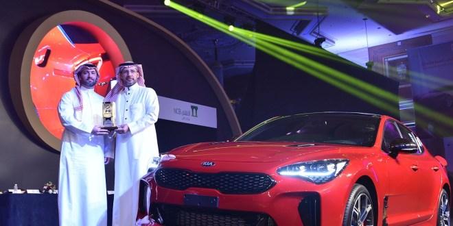 الشيخ عبدالسلام الجبر يستلم جائزة افضل سيارة مبتكرة