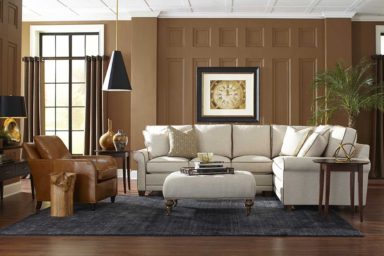 chair sofa beds genuine leather click clack bed my style sofas and sectionals from rowe furniture ...