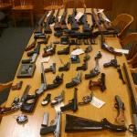Saugus Police Seize Dozens of Illegal Firearms While Serving Section 12 Order