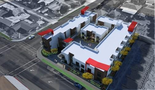 pomona apartments architectural renderings