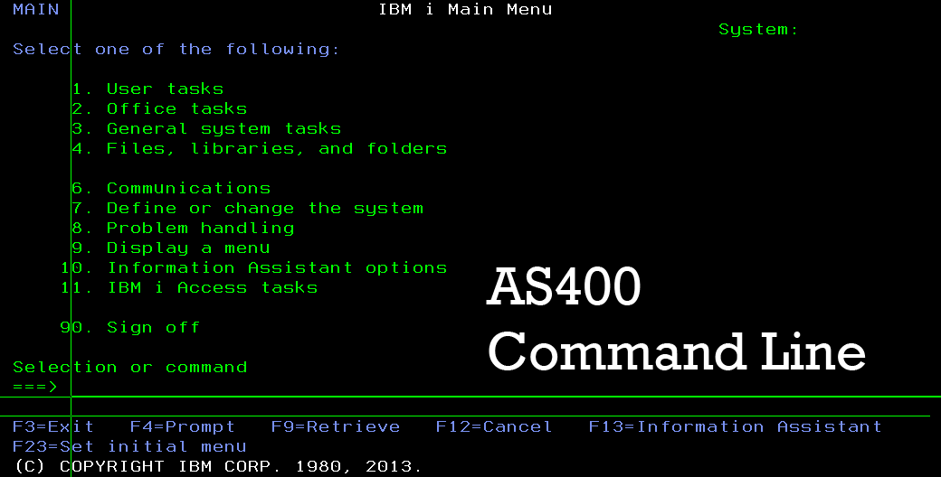You are currently viewing Memahami Command AS400