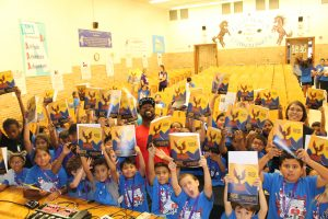SaulPaul and the kids of Prime Time Academy