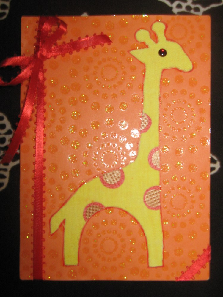 Cards using Fabric (1/6)