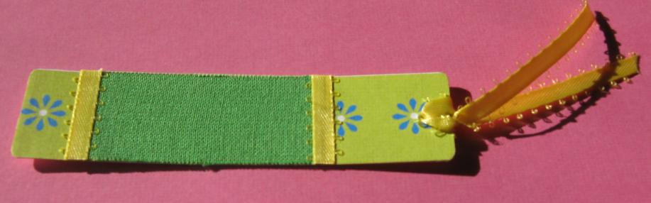 Fabric Bookmarks (3/6)