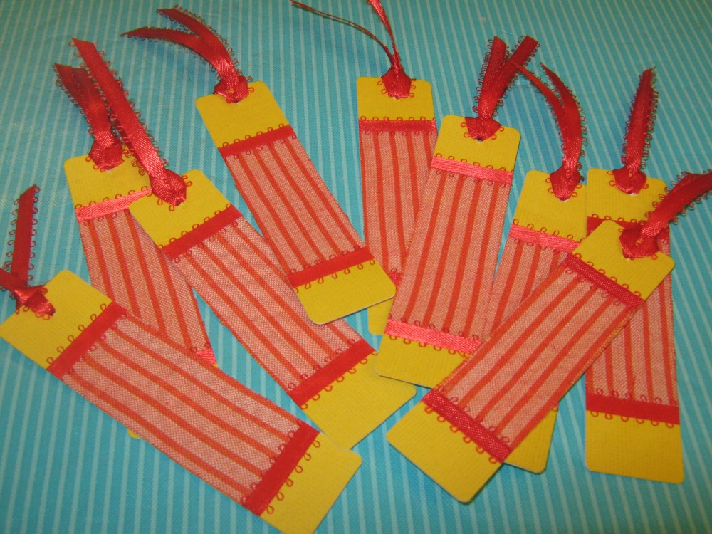 Fabric Bookmarks (2/6)