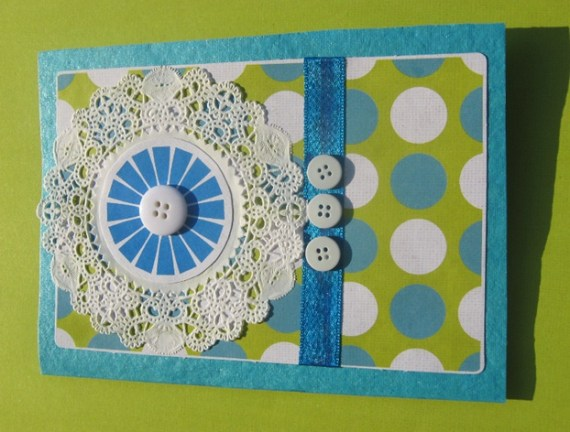 Paper Doily Saumyas Cards And Crafts