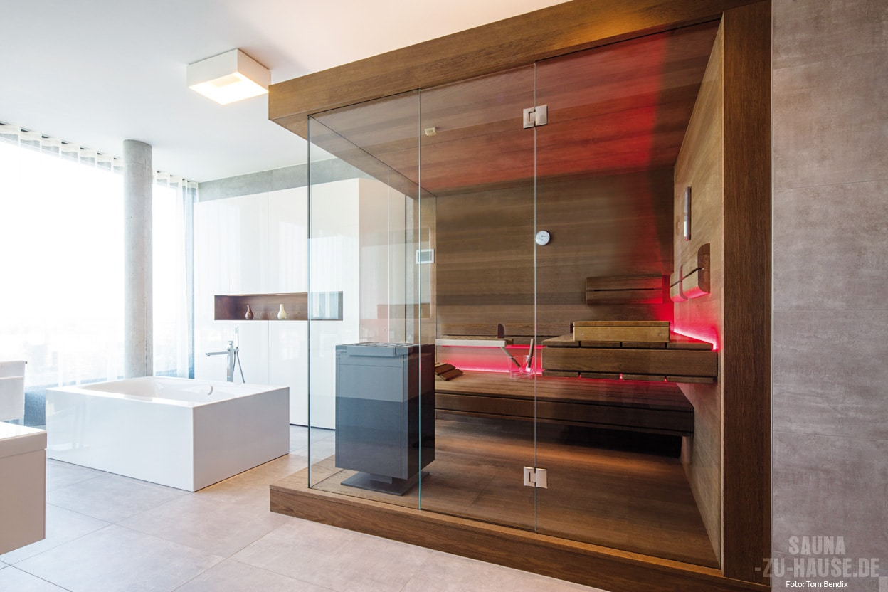 kleine sauna f r zu hause klafs planungsideen. Black Bedroom Furniture Sets. Home Design Ideas