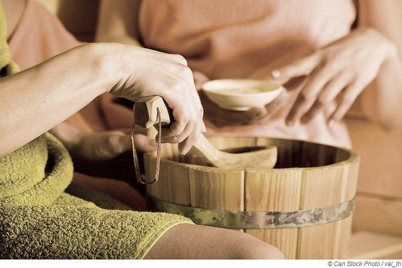 Ätherische Öle für die Sauna