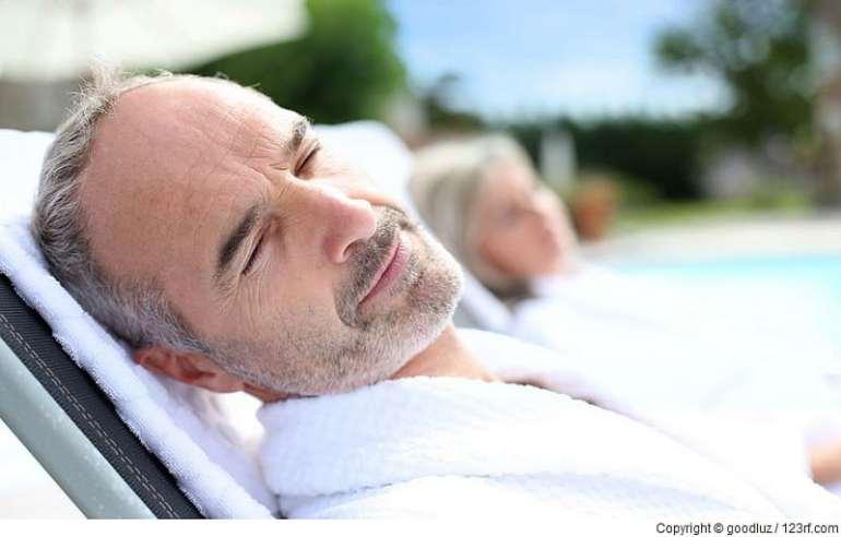 Richtig Entspannung nach dem Saunabaden