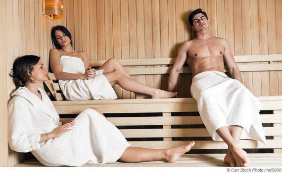 Sauna stärkt und härtet unser Immunsystem ab