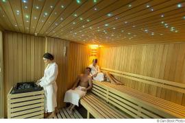 Lichttherapie in der Sauna