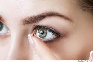 Mit Kontaktlinsen in die Sauna