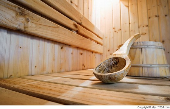 Wie Sauna gegen Stress helfen kann