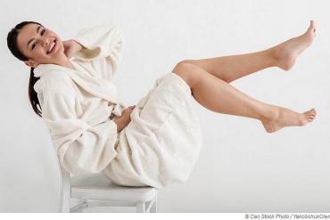 Sauna hilft beim Entschlacken und regt den Stoffwechsel an
