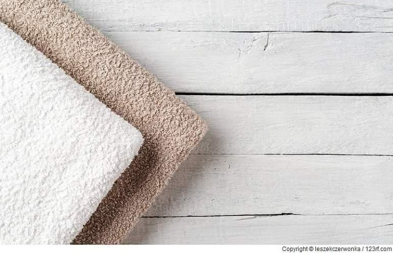 Saunahandtücher bieten ein ideales Zuhause für Bakterien