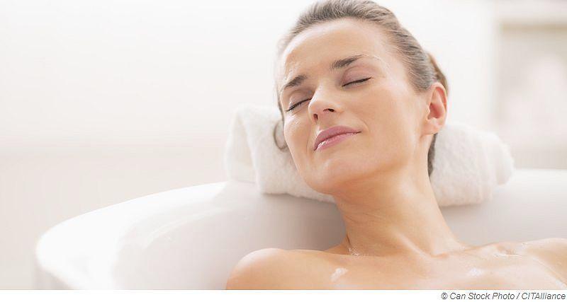 Schnupfen - Heißes Bad nehmen