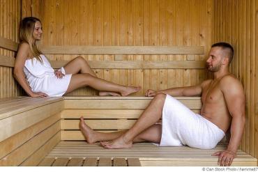 Erfahre die Gründe warum wir in der Sauna schwitzen