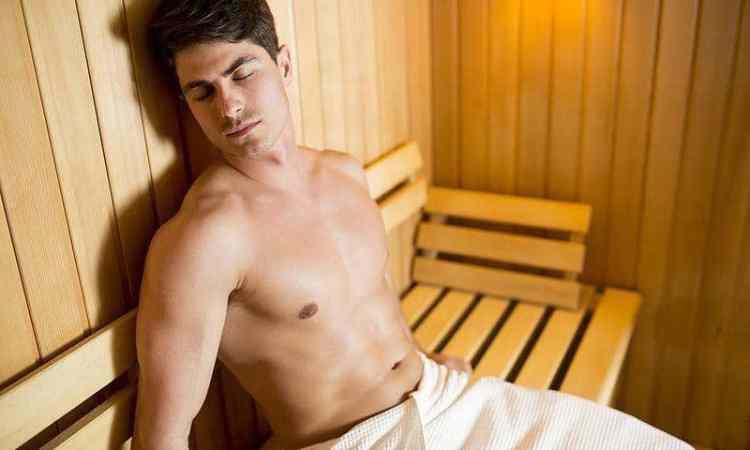 Lebensgefahr? - In der Sauna einschlafen