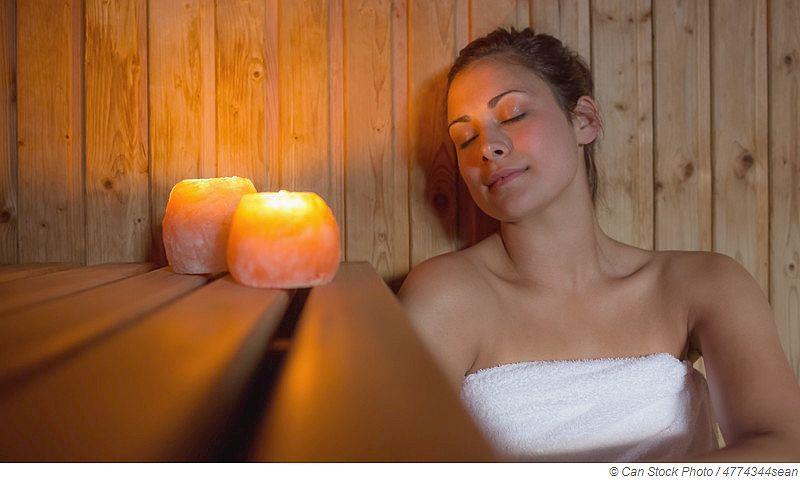 Sauna reinigt den Körper und entspannt unsere Psyche
