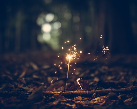 spark - my 2018 word of the year! www.saunderssays.com
