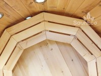 Wooden Hot Tub - High Quality Siberian Larch - External ...