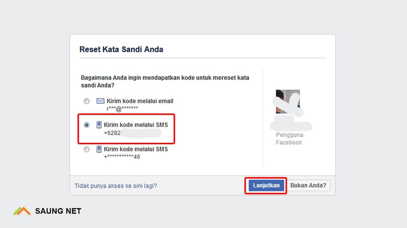 lupa sandi facebook