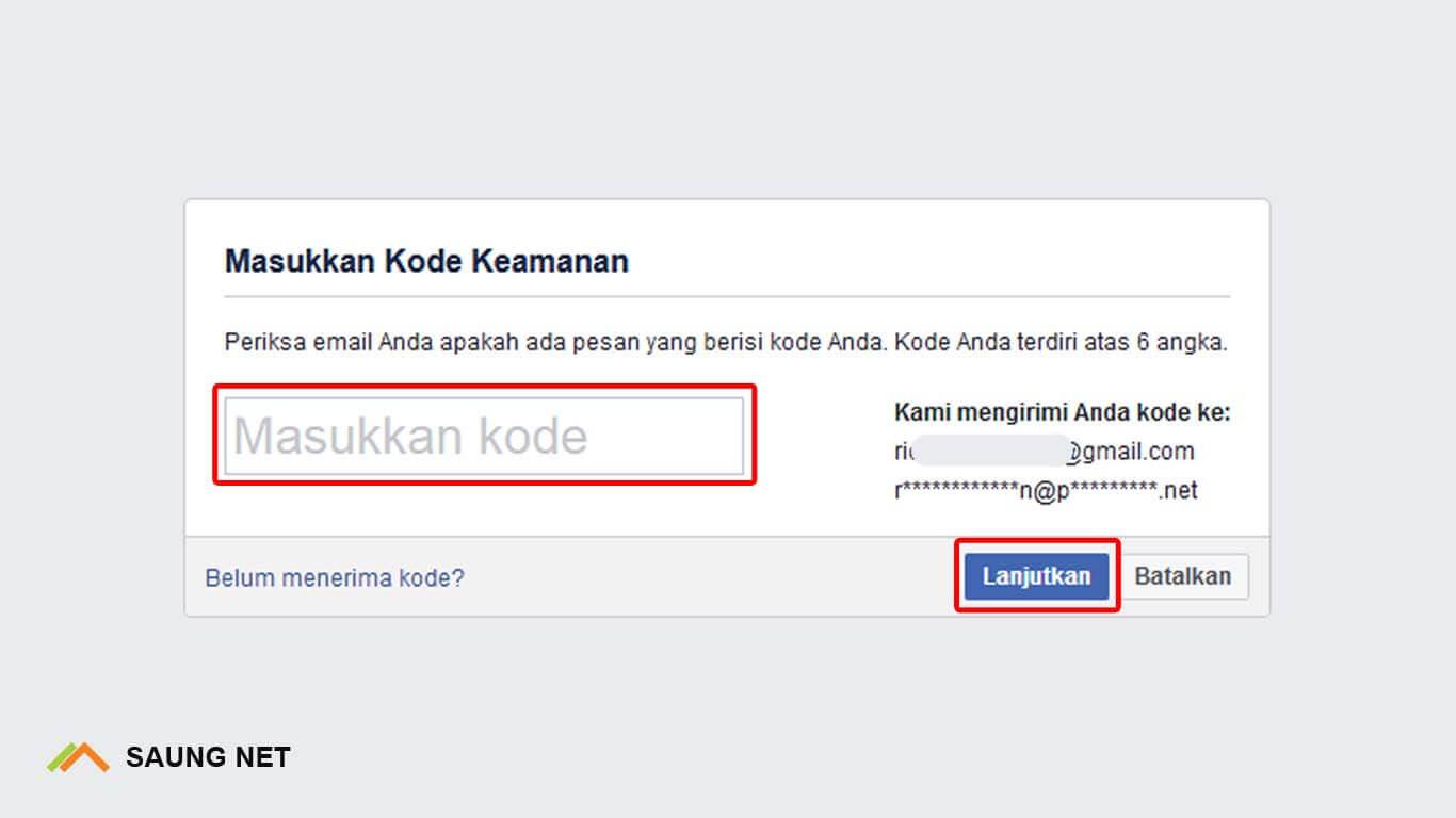cara membuka kata sandi facebook