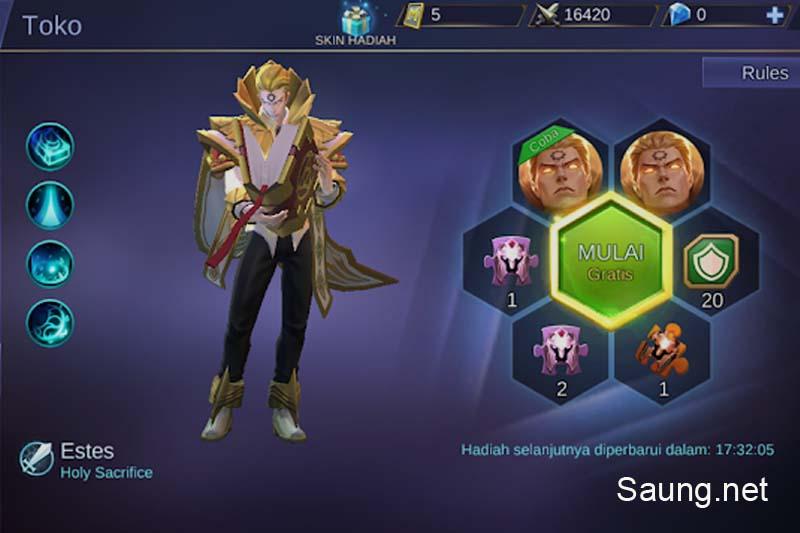 Lucky Spin Skin Hero Mobile Legends