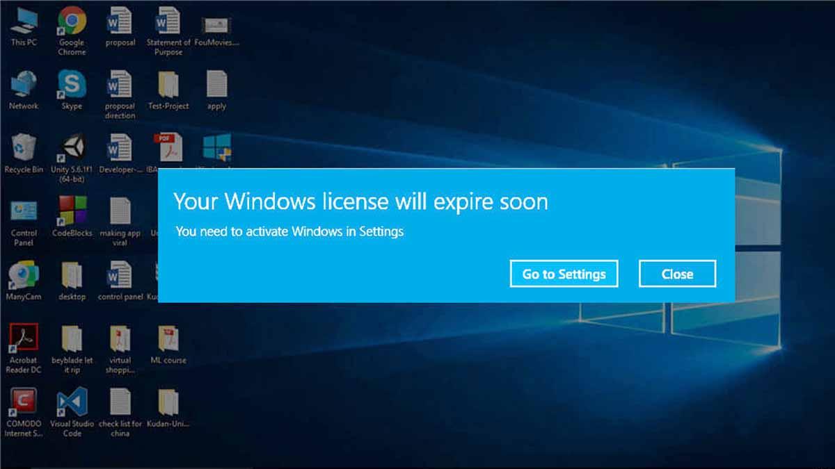 Cara Mengatasi Windows 10 Expired Tanpa Install Ulang