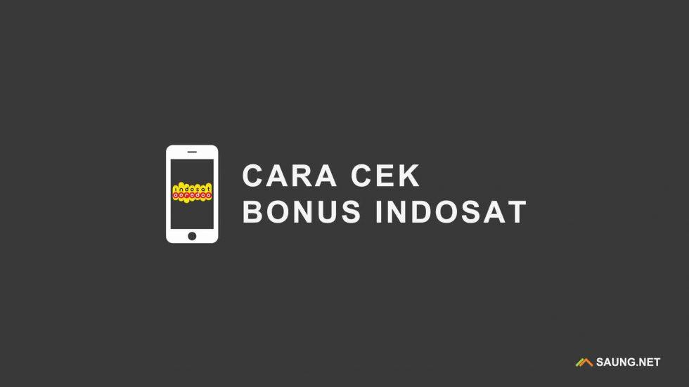 Cek Bonus Indosat