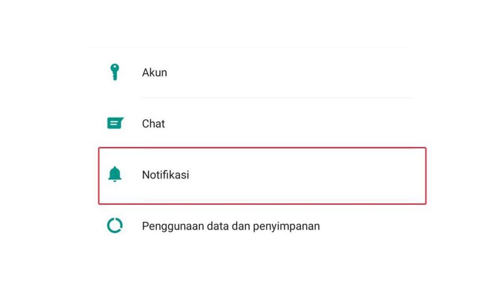 Cara Mengganti Nada Notifikasi WhatsApp