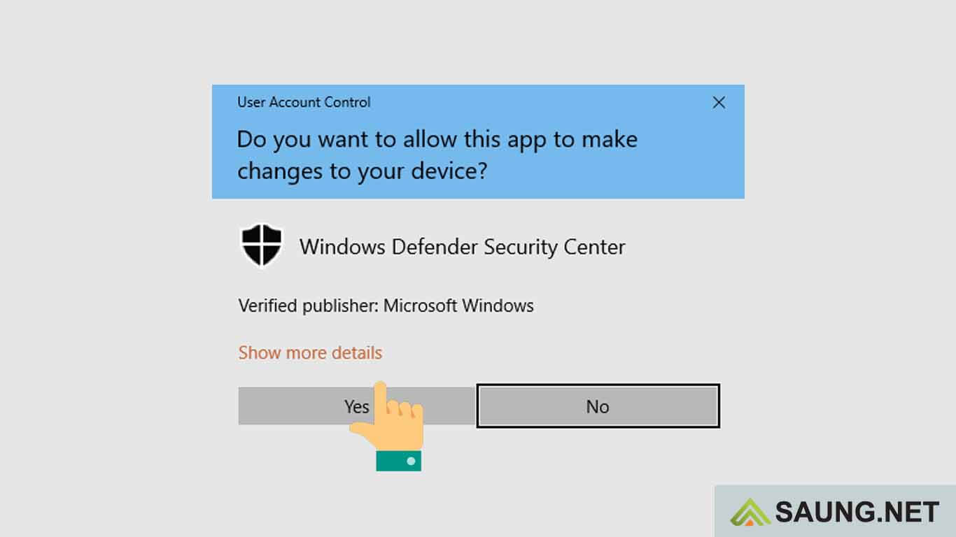 matikan windows defender