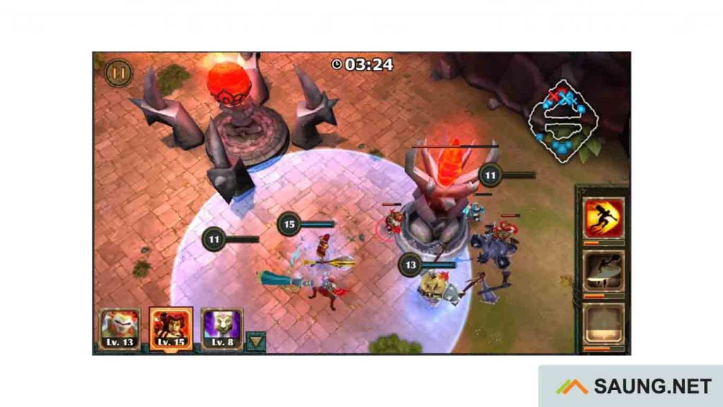 download game moba offline apk