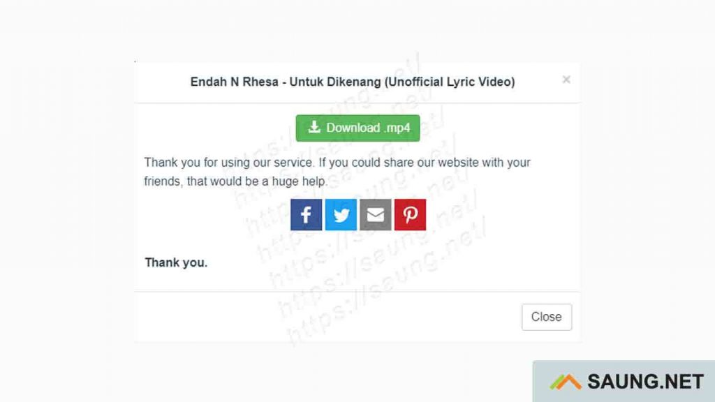 cara download video tanpa software