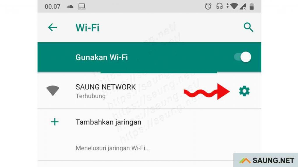 cek ip address wifi