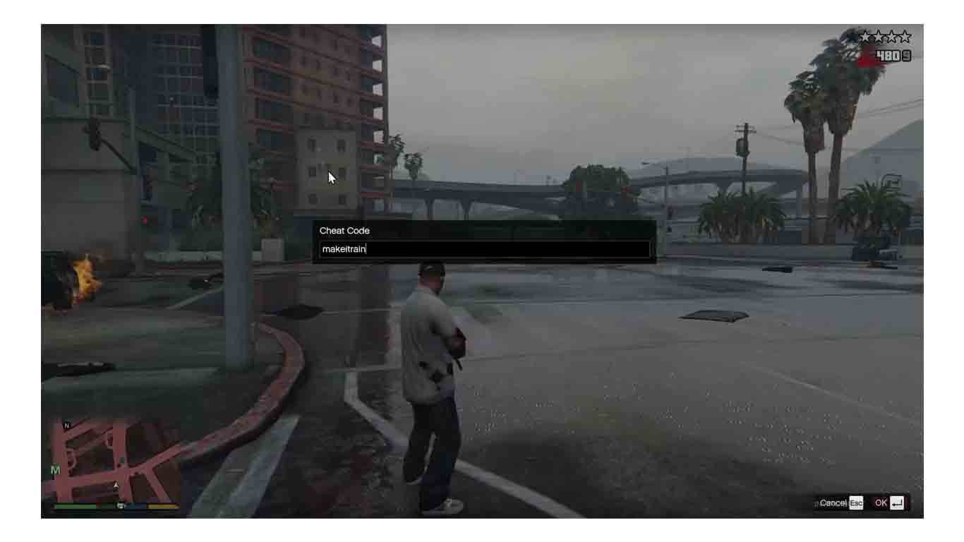 Cheat GTA V PC