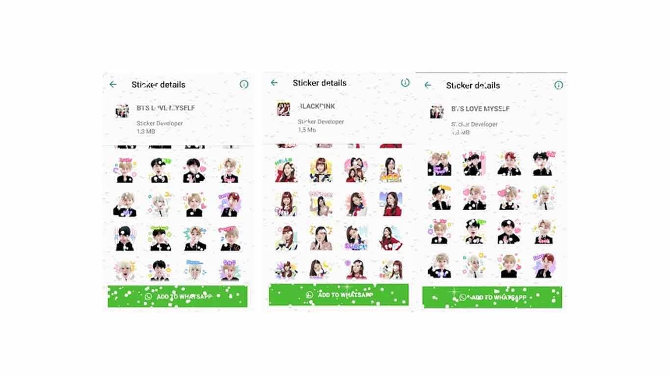 Korean Idol Sticker for WhatsApp