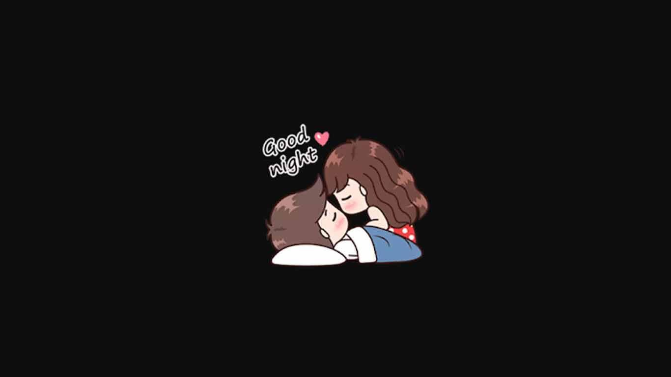Romantic Couple Sticker