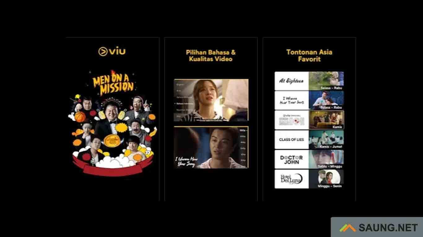Viu - aplikasi download film bioskop