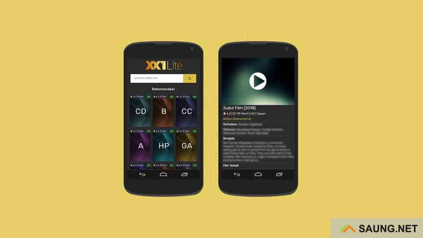 XX1 Lite - aplikasi download film terbaru