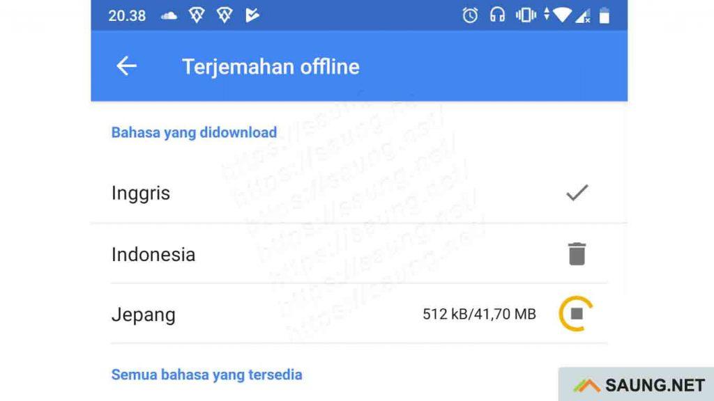 google terjemahan offline