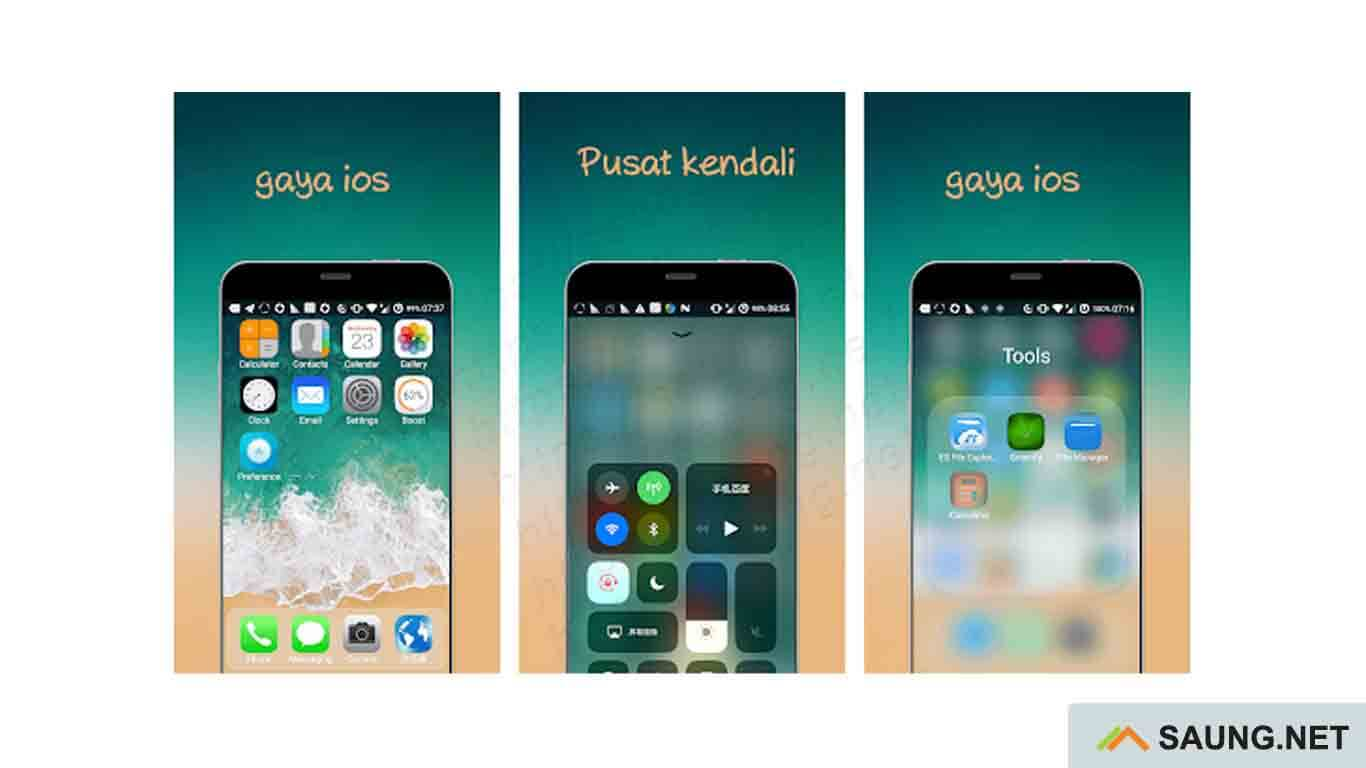 launcher iphone terbaik android