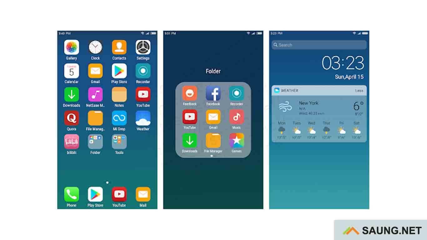 launcher iphone yang ringan