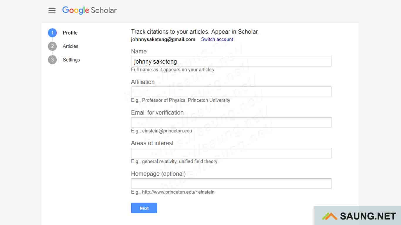 google scholar english