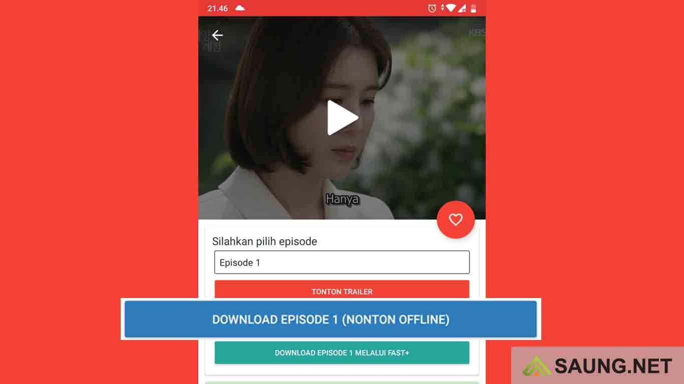 cara download drama korea di hp