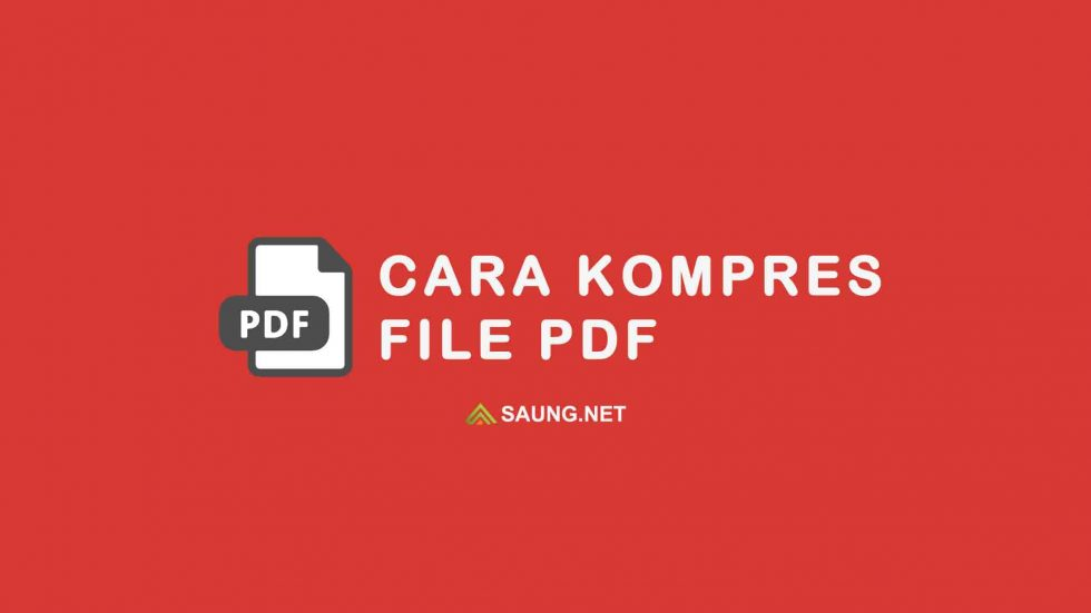 cara kompress pdf
