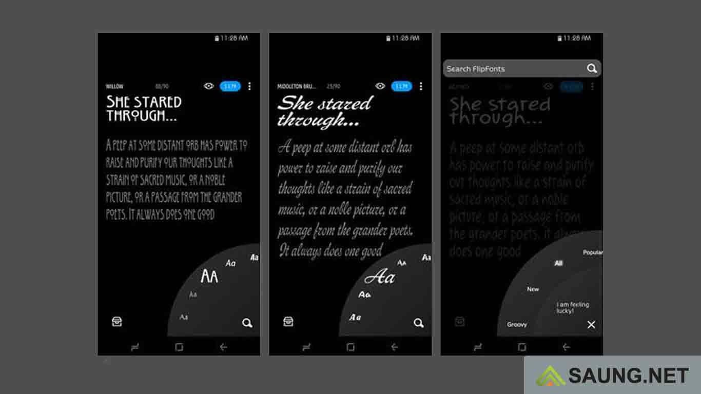 font android tanpa root