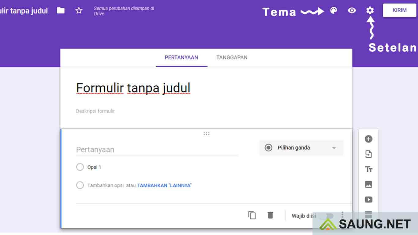 google form indonesia