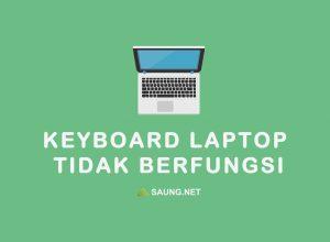 keyboard laptop tidak berfungsi