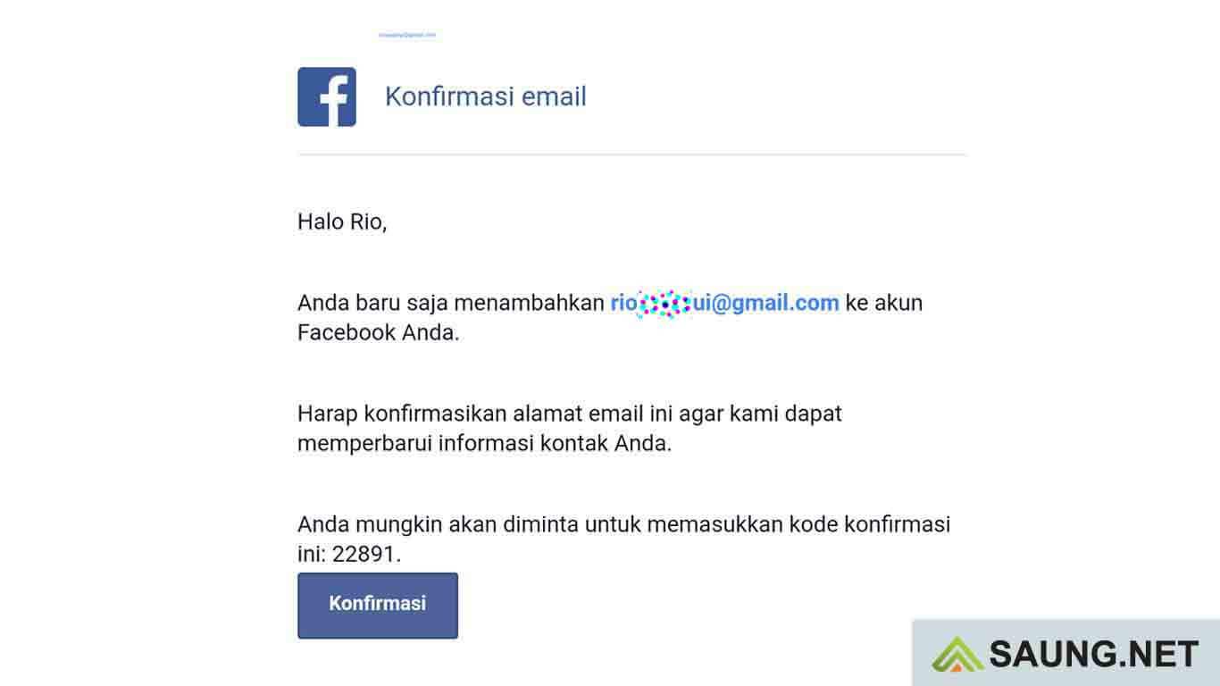 buka email facebook